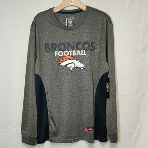 Denver Broncos NFL Long Sleeve Sweatshirt